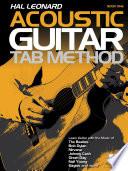 Hal Leonard Acoustic Guitar Tab Method   Book 1