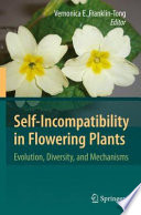Self Incompatibility in Flowering Plants Book PDF