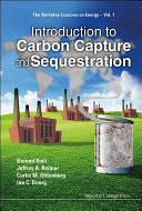 Book Introduction to Carbon Capture and Sequestration