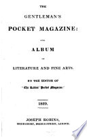 The Gentleman's Pocket Magazine; and Album of Literature and Fine Arts
