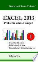 Excel 2013  Probleme und L  sungen  Band 1