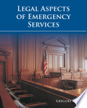 Legal Aspects Of Emergency Services
