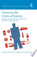 Pursuing the Unity of Science