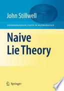 Naive Lie Theory
