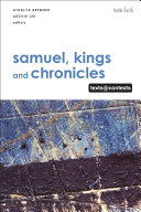 Samuel, Kings and Chronicles I