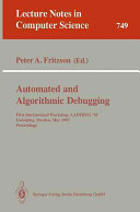 Automated and Algorithmic Debugging