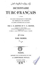 Dictionnaire Turc-Francais