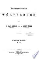 Mittelniederdeutsches W  rterbuch