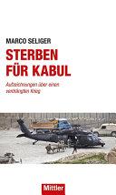 Sterben für Kabul