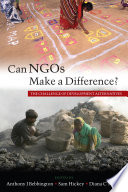 Can NGOs Make a Difference