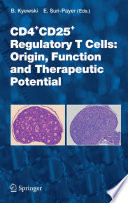 CD4 CD25  Regulatory T Cells  Origin  Function and Therapeutic Potential