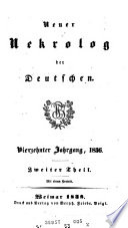 Neuer Nekrolog der Deutschen