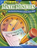 Eighth-Grade Math Minutes