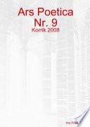 Ars Poetica Nr  9  Korrik 2008