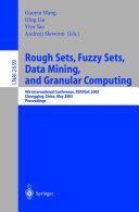 download ebook rough sets, fuzzy sets, data mining, and granular computing pdf epub