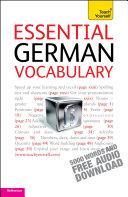 Essential German Vocabulary  Teach Yourself