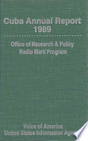 Cuba Annual Report  1989