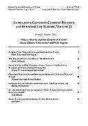 Current Politics and Economics of Europe