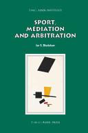Sport, Mediation and Arbitration