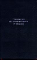Christliche Staatsphilosophie in Spanien