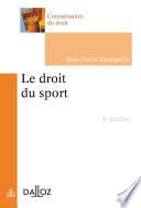 Le Droit Du Sport 4e D