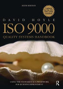 Iso 9000 Quality Systems Handbook Updated For The Iso 9001