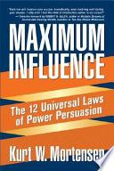Maximum Influence Book Cover