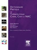 illustration du livre Dictionnaire pratique de thérapeutique : chien, chat et NAC