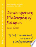 Contemporary Philosophy of Religion