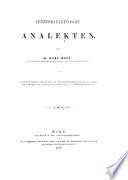 Veneto-byzantinische Analekten