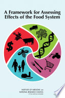 A Framework for Assessing Effects of the Food System Book PDF