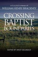 Crossing Baptist Boundaries