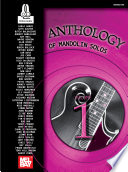 Master Anthology of Mandolin Solos  Volume 1