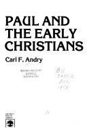 Paul and the Early Christians