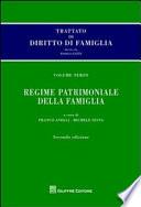 Regime patrimoniale della famiglia