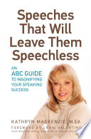 Speeches That Will Leave Them Speechless
