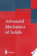 Advanced Mechanics of Solids