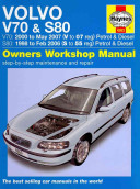 Volvo V70 S80 Petrol and Diesel  98 07  S to 07