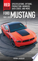 Ford Mustang Red Book 1964 1 2 2015