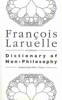 Dictionary of Non philosophy