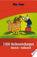 2000 Redewendungen Deutsch Italienisch