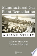 Manufactured Gas Plant Remediation