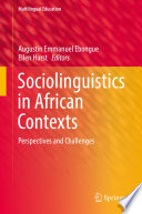 Sociolinguistics in African Contexts