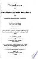 Verhandlungen des Naturhistorischen Vereines der preussischen Rheinlande und Westphalens