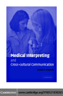 Medical Interpreting and Cross-cultural Communication