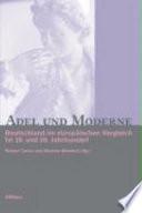Adel und Moderne