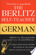 The Berlitz Self teacher  German