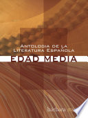 Antologia de la Literatura Espanola  Edad Media