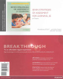 Seven Strategies of Assessment for Learning  Enhanced Pearson Etext    Access Card