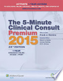 The 5 Minute Clinical Consult Premium 2015